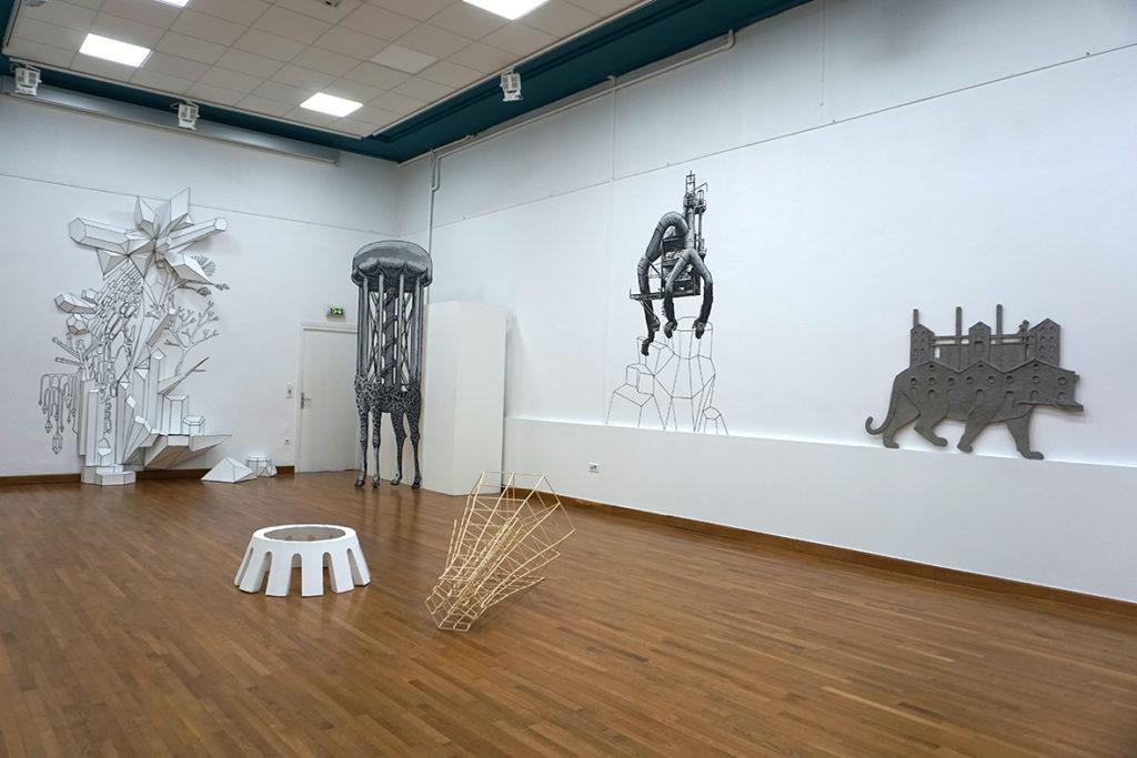 Emilie Losch, exposition KOSMOS vue densemble